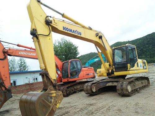 出售二手小松PC220挖掘机 保修一年 全国包送