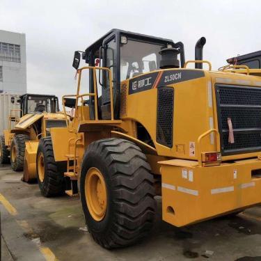 出售9成新二手柳工LG50CN装载机 保修一年