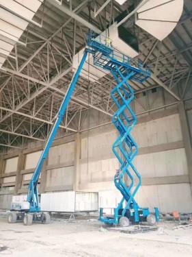 上海市宝山出租徐工20米高空车升降机电话