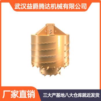供应旋挖钻机易损件双层筒钻旋挖钻头二次取芯钻头旋挖配件钻斗可定制