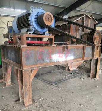 出售二手1200制砂设备板锤制砂机破碎机