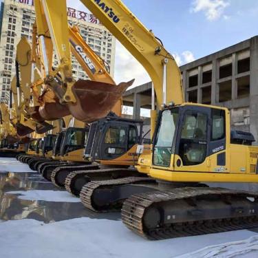 酒泉 定西 庆阳低价出售优质小松130、200、220、240、360二手挖掘机
