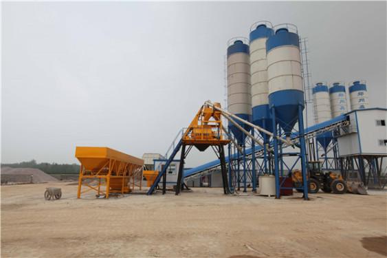 出售二手中联HZS180混凝土搅拌站工程建筑机械设备出租转让