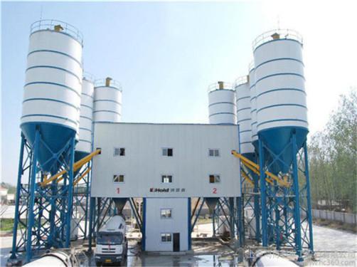 出售二手三一HZS80混凝土搅拌站9成新低价转让长期供应