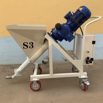 供应和佳S3厚型钢结构防火材料喷涂机