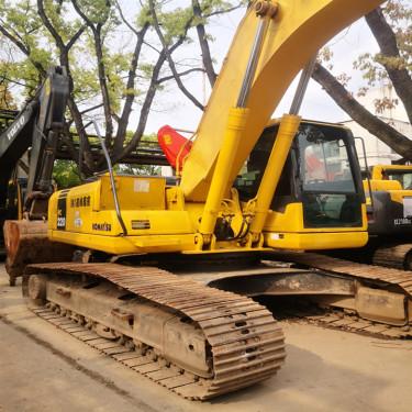 陇南 临夏 甘南低价出售优质小松130、200、220、240、360二手挖掘机