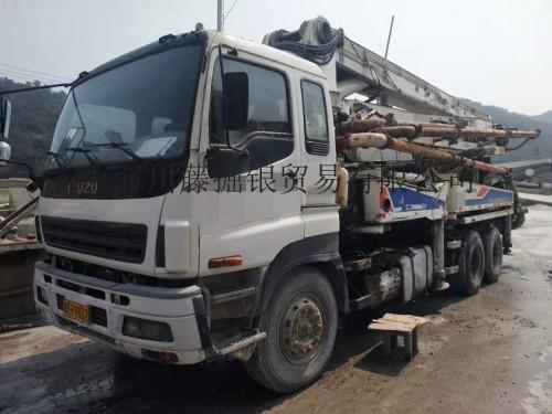 出售二手混凝土泵车37米-63米二手混凝土泵车