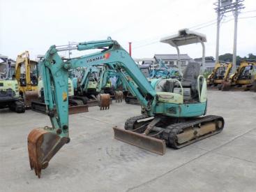 出售二手洋马/日立挖掘机日本原装进口小型挖掘机