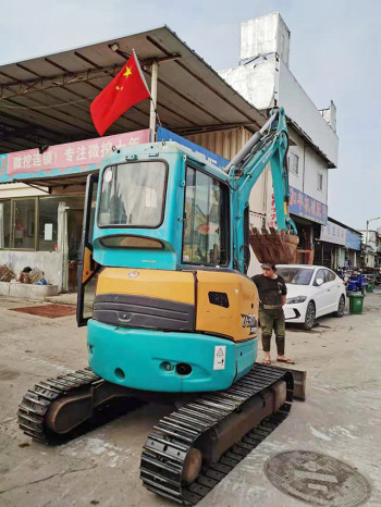 出售二手久保田U30-5挖掘机日本原装进口小型挖掘机经久耐用