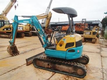 个人转让二手久保田30日本原装进口小型挖掘机