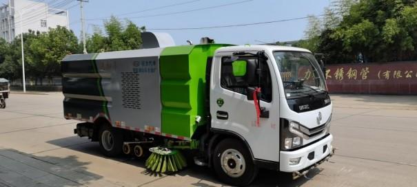 出租程力威程力威CLW5070TXS6HL洗扫车