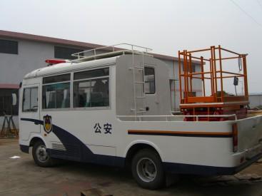 供应明华车载式铝合金升降平台
